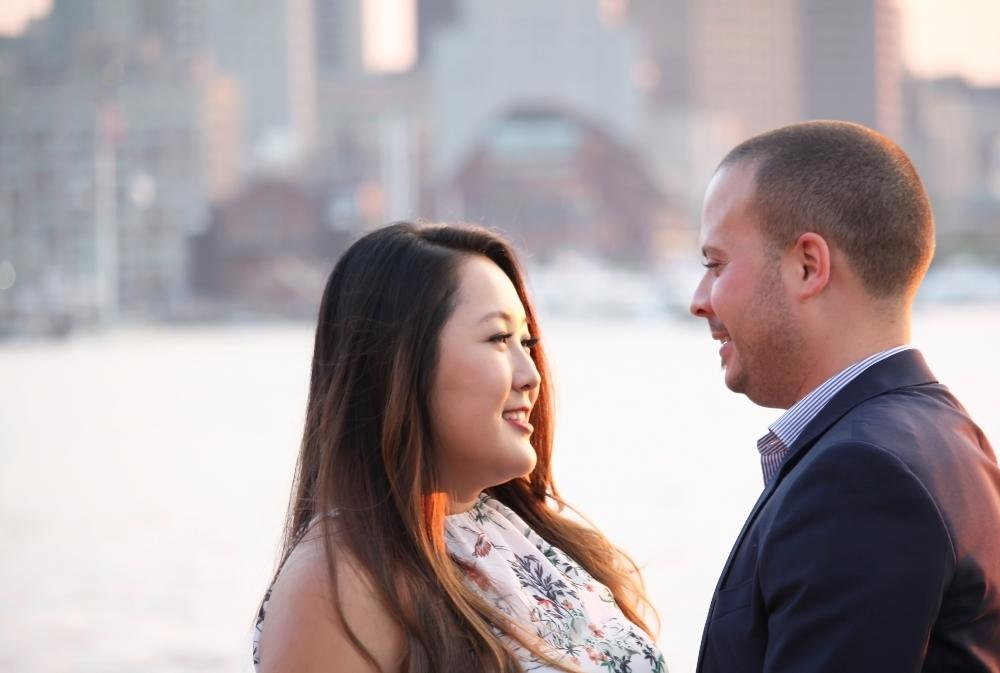 Piers Park East Boston Engagement Session