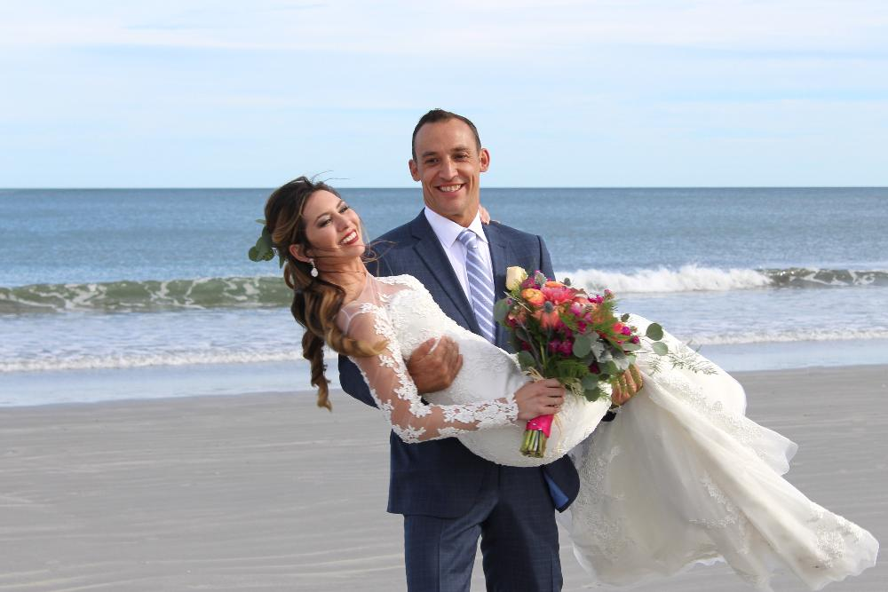 Goose Rocks Beach Wedding Maine